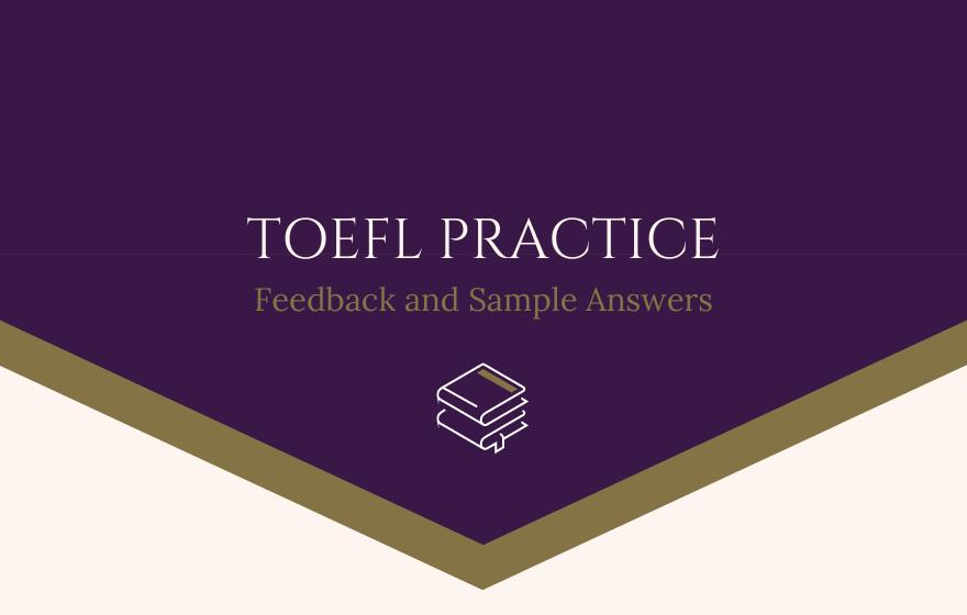 TOEFL Practice (1-10)